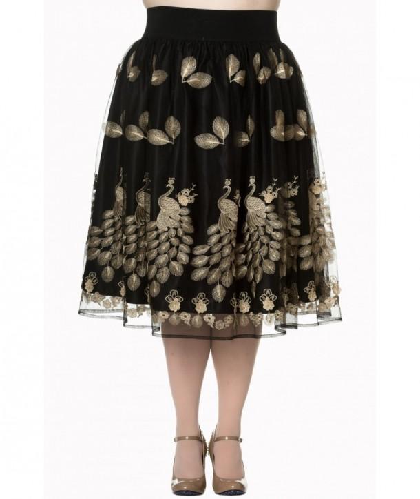 Jupe Banned Clothing Moonlight Escape Skirt Noir