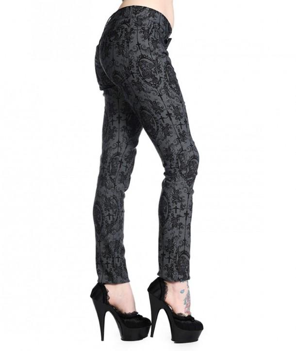 Pantalon Banned Clothing Cross Cameo Grey