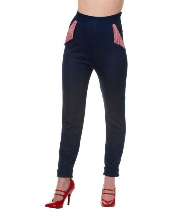 Pantalon Banned Clothing Blueberry Hill