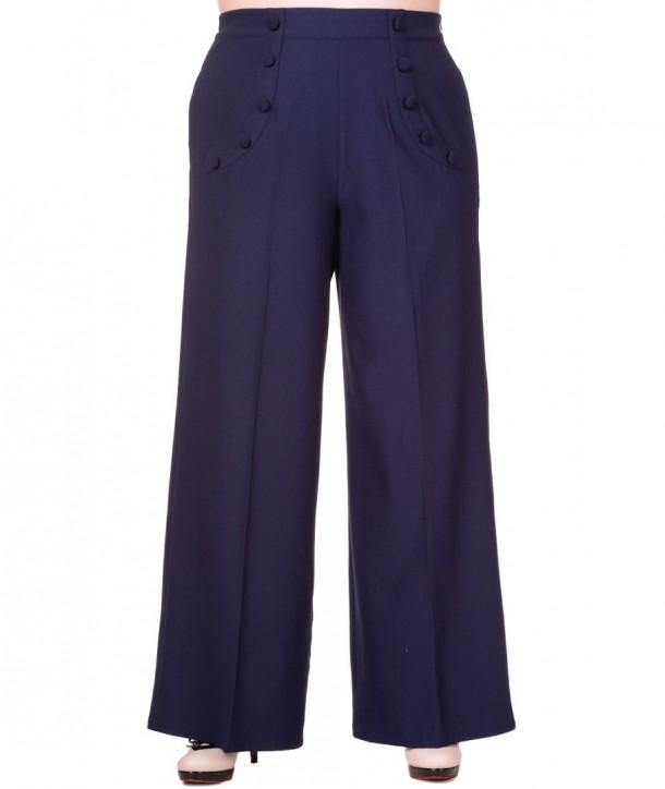 Pantalon Banned Clothing Full Moon Navy