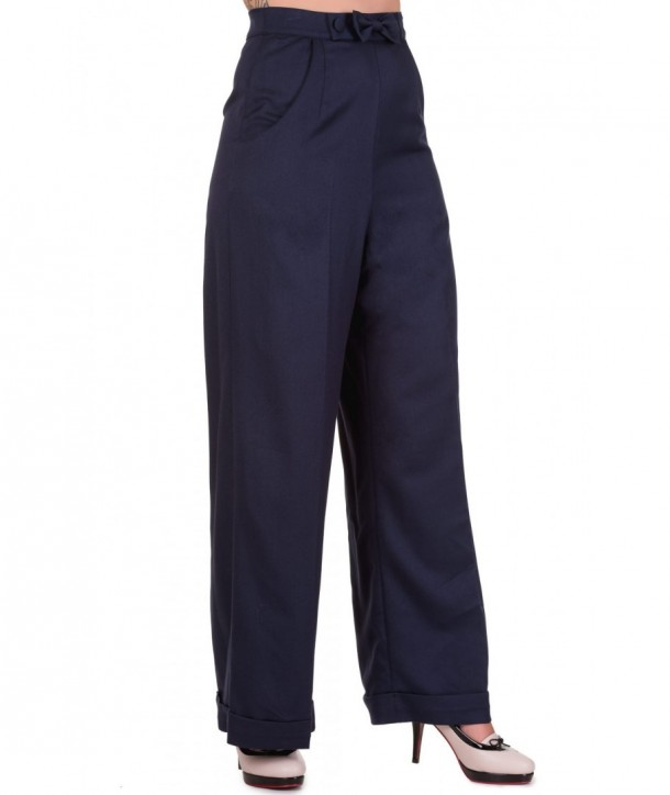 Pantalon Banned Clothing Hidden Away Navy