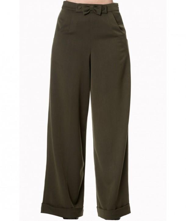 Pantalon Banned Clothing Hidden Away Olive