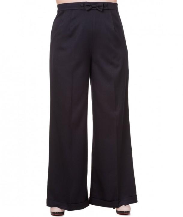 Pantalon Banned Clothing Hidden Away Black