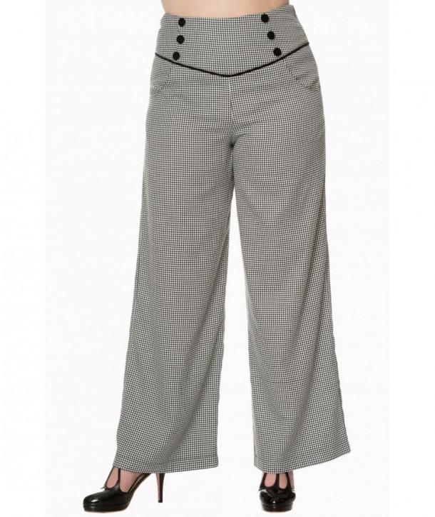 Pantalon Banned Clothing Swept Off Her Noir