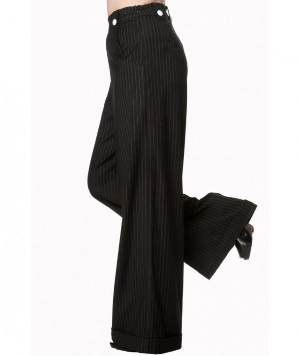 Pantalon Banned Clothing Sweet Revenge Black