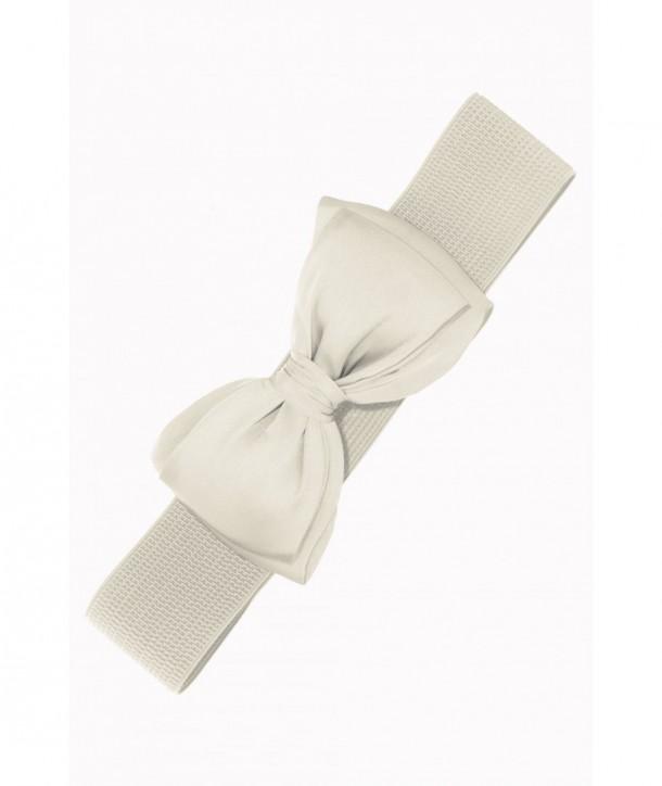 Ceinture Banned Clothing Bella Belt Blanc