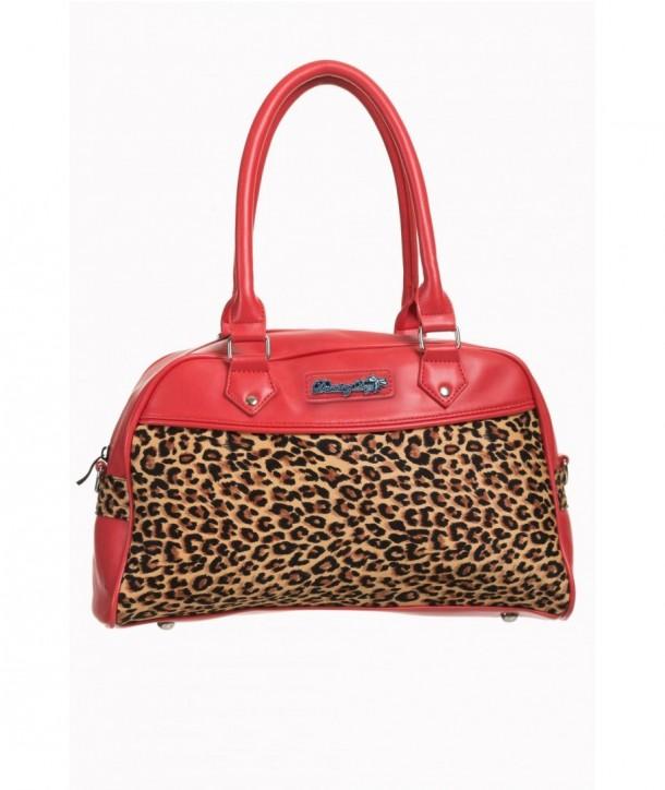Sac Banned Clothing Tori Handbag Beige/Rouge