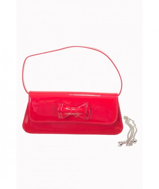 Sac Banned Clothing Mimi Clutch Bag Rouge