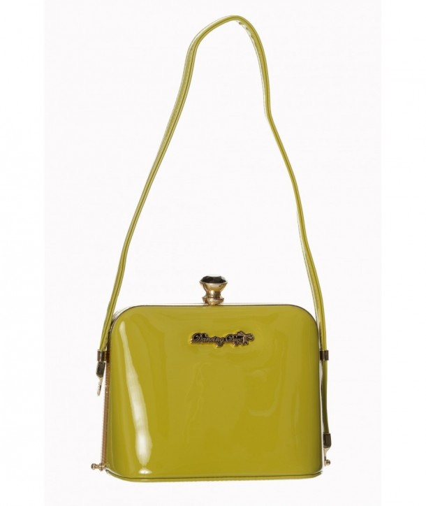 Sac Banned Clothing Dark Blooms Handbag Olive