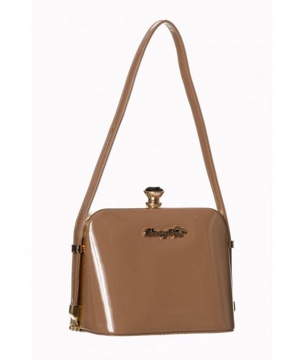 Sac Banned Clothing Dark Blooms Handbag Praline