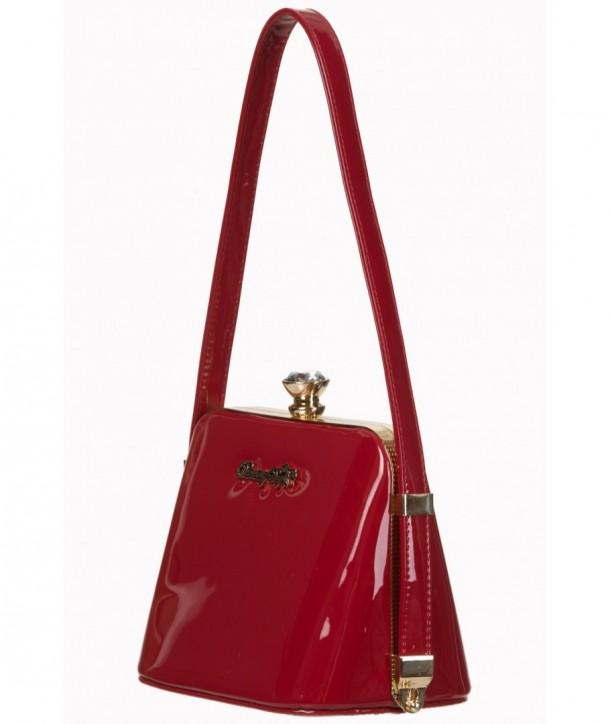 Sac Banned Clothing Dark Blooms Handbag Rouge