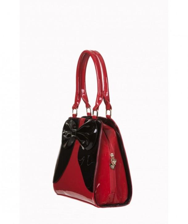 Sac Banned Clothing Lila Handbag Rouge/Noir