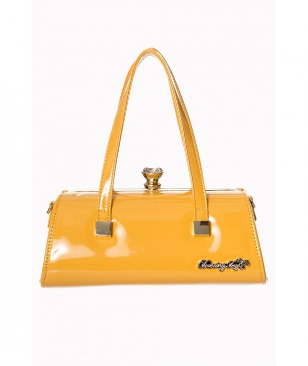 Sac Banned Clothing Emily Handbag Mustard