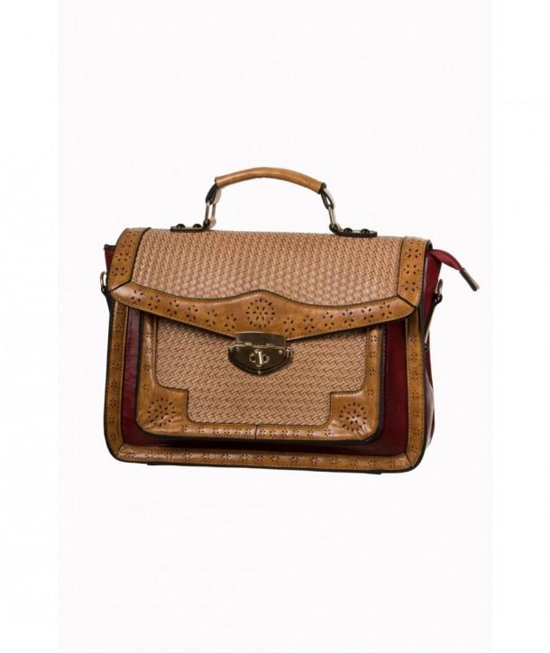 Sac Banned Clothing Honky Tonk Handbag Rouge