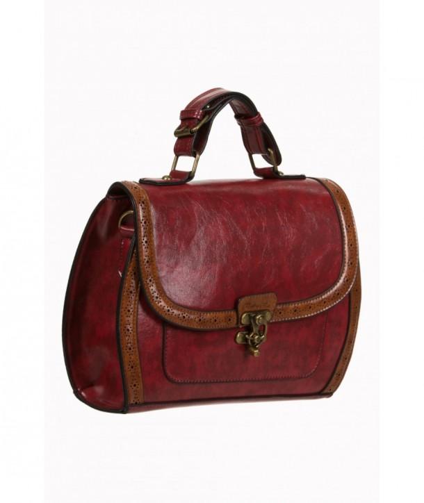 Sac Banned Clothing Stevie Handbag Rouge