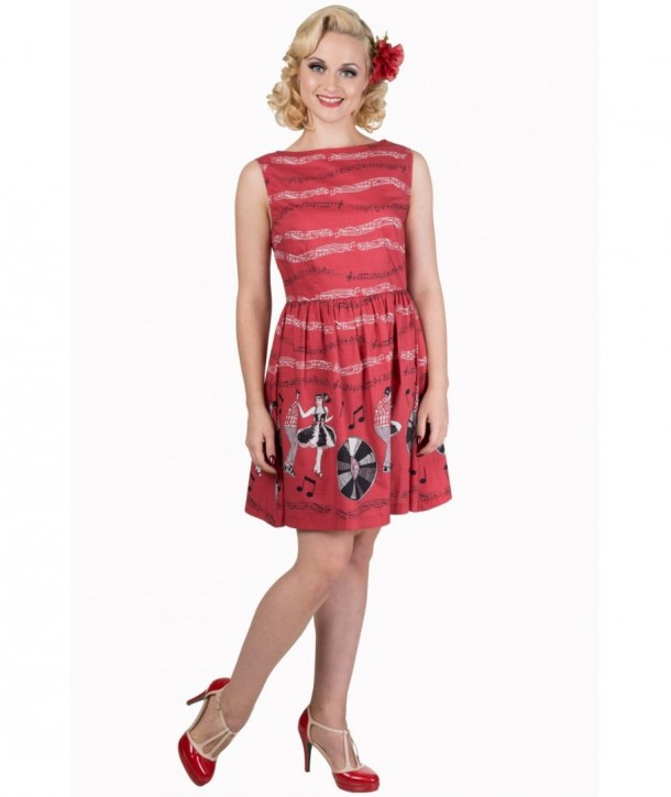 Robe Banned Clothing Empower Dress Rouge