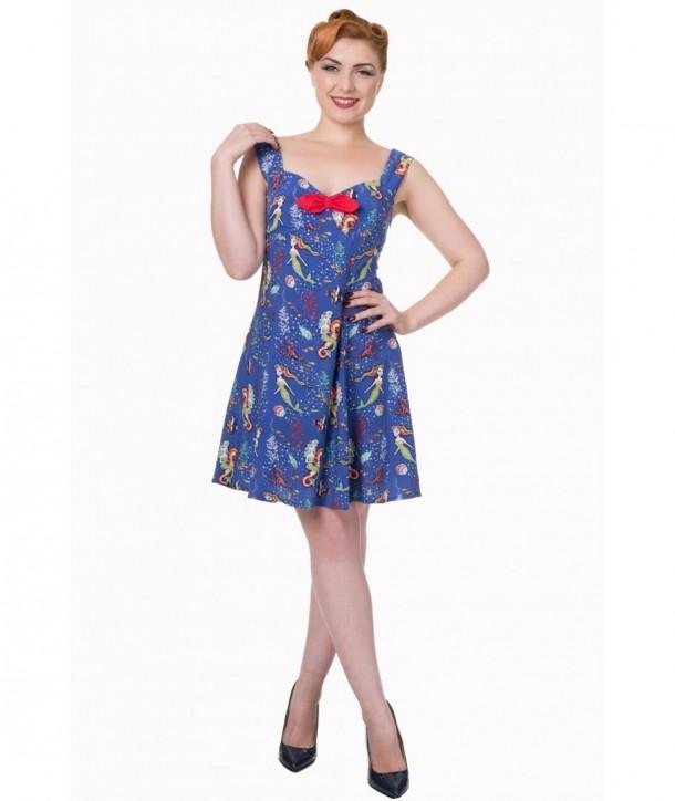 Robe Banned Clothing Made Of Wonder Mini Dress Bleu
