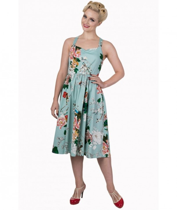 Robe Banned Clothing Summer Glow Dress Bleu