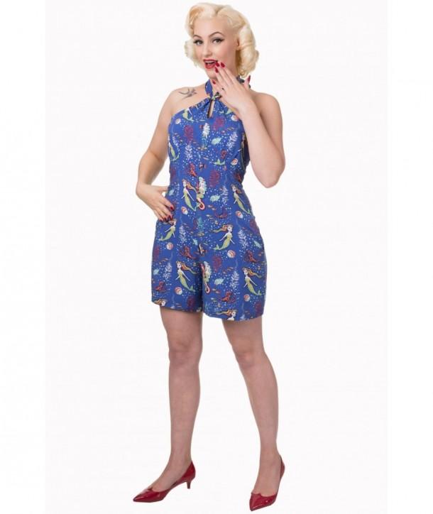 Pyjama Banned Clothing Made Of Wonder Playsuit Bleu
