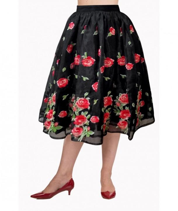 Jupe Banned Clothing Dark Moon Skirt Noir