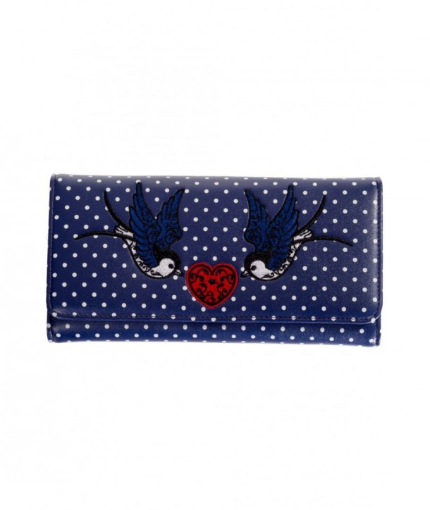 Porte Monnaie Banned Clothing Now Or Never Wallet Navy