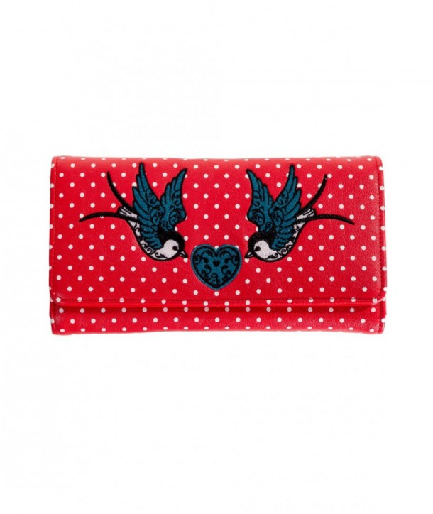 Porte Monnaie Banned Clothing Now Or Never Wallet Rouge