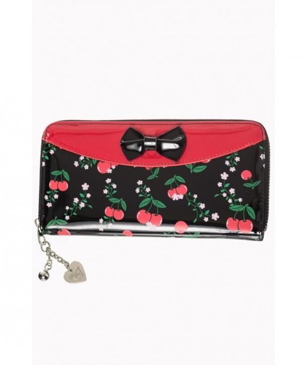 Porte Monnaie Banned Clothing New Romantics Wallet Rouge/Noir
