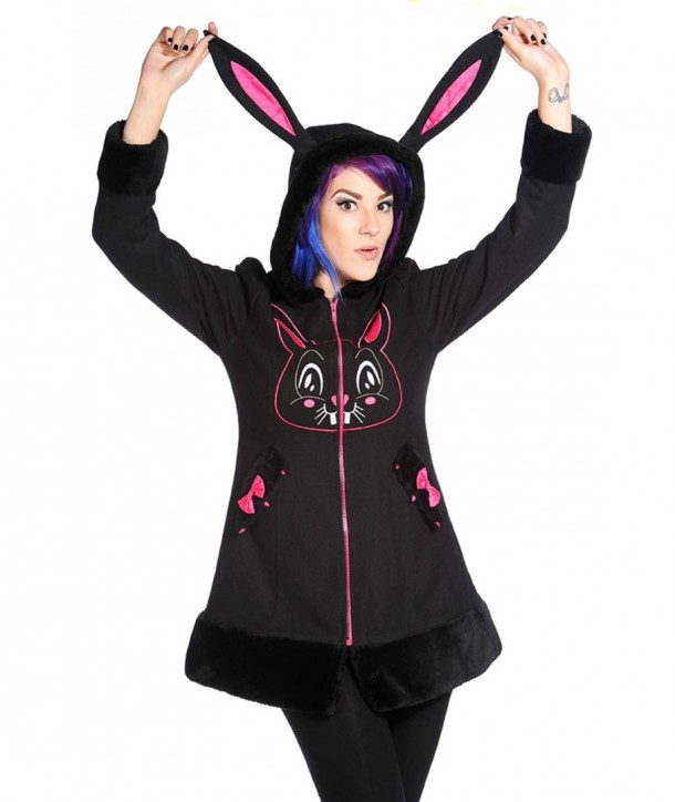 Manteau Banned Clothing Bunny Face