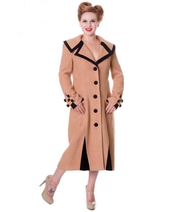 Manteau Banned Clothing LONG VINTAGE
