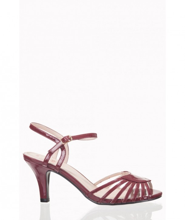 Chaussures Banned Clothing Amelia Bordeaux