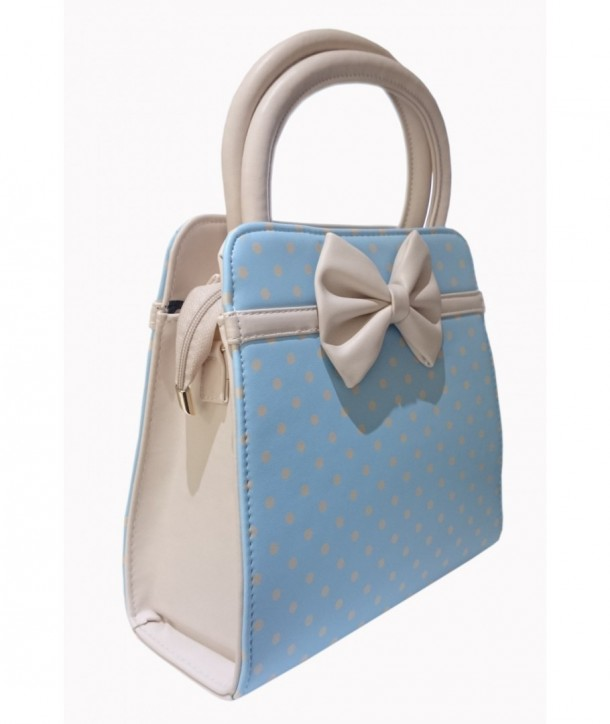 Sac Banned Clothing Carla Baby Blue