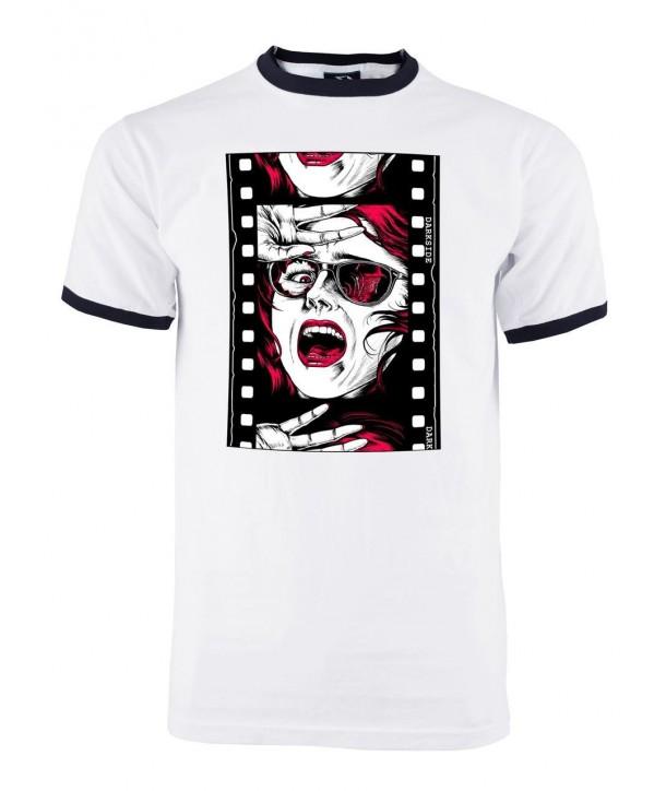 Tee Shirt Darkside Clothing Homme Horror Film Reel