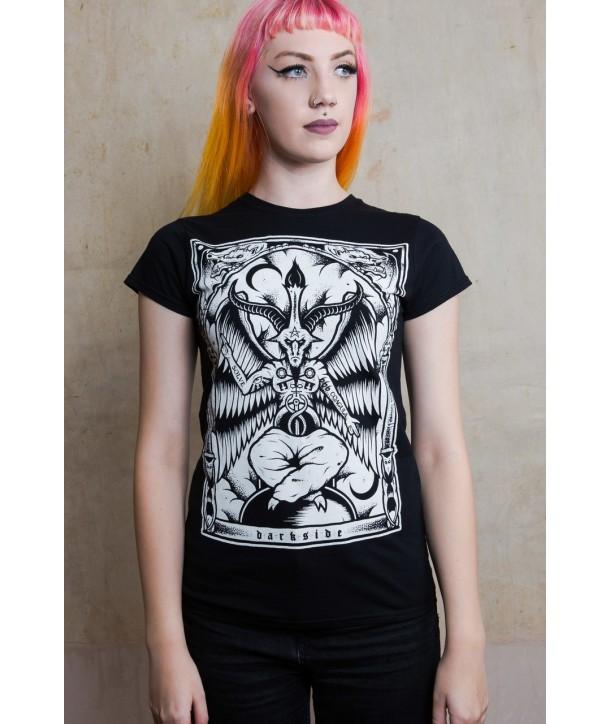 Tee Shirt Darkside Femme Baphomet
