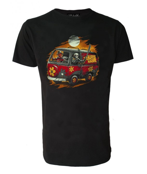 Tee Shirt Darkside Clothing Homme Scooby Horror Machine