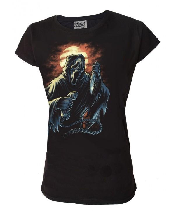 Tee Shirt Darkside FemmeGhost Scream Womens