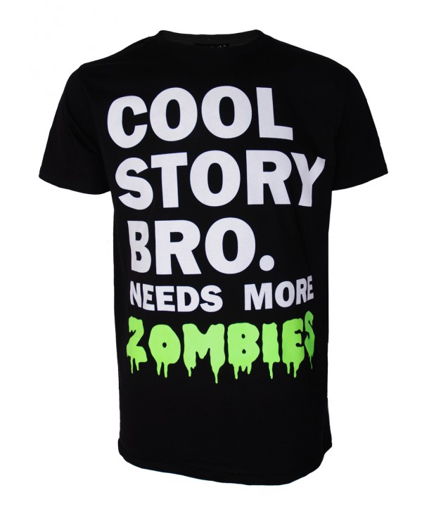 Tee Shirt Darkside Clothing Cool Zombie Story