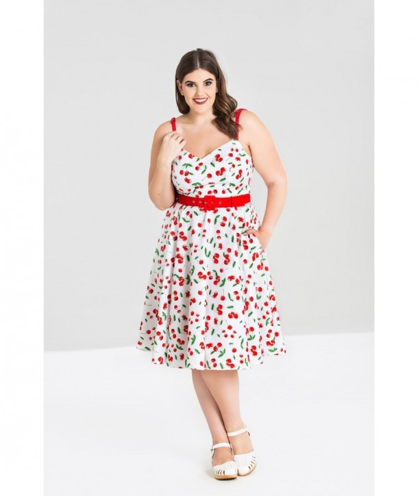 Grande Robe 50's Hell Bunny Taille Sweetie EW92IDH