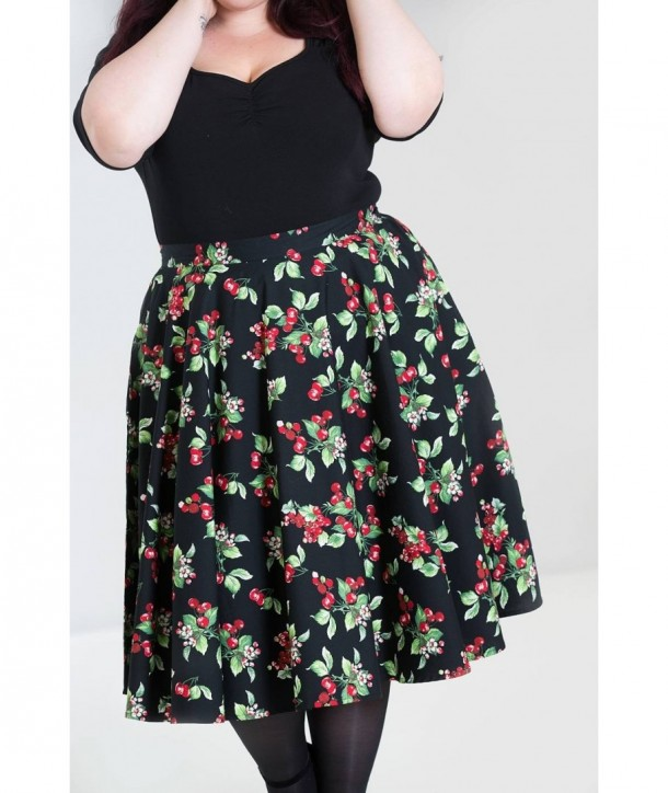 Jupe grande taille Hell Bunny Cherie 50'S