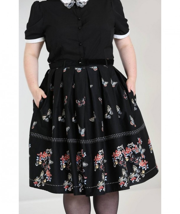 Jupe grande taille Hell Bunny Laeticia 50'S