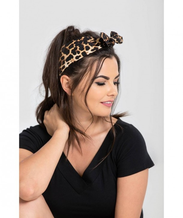 Bandeau cheveux Hell Bunny Panthera Hairtie
