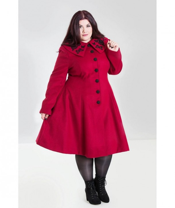 Manteau grande taille Hell Bunny Hermione
