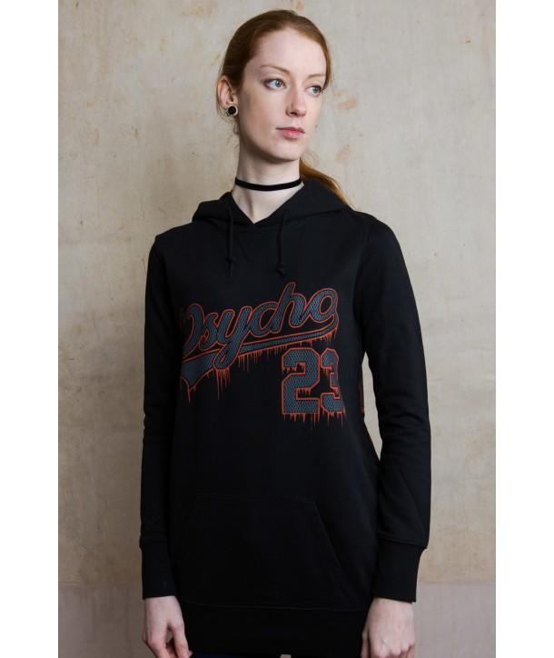 Sweat Shirt Darkside Clothing Femme Psycho 23