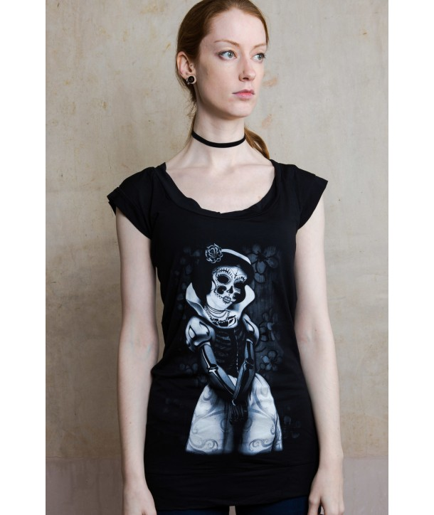 Robe Darkside Clothing Snow White Skeleton