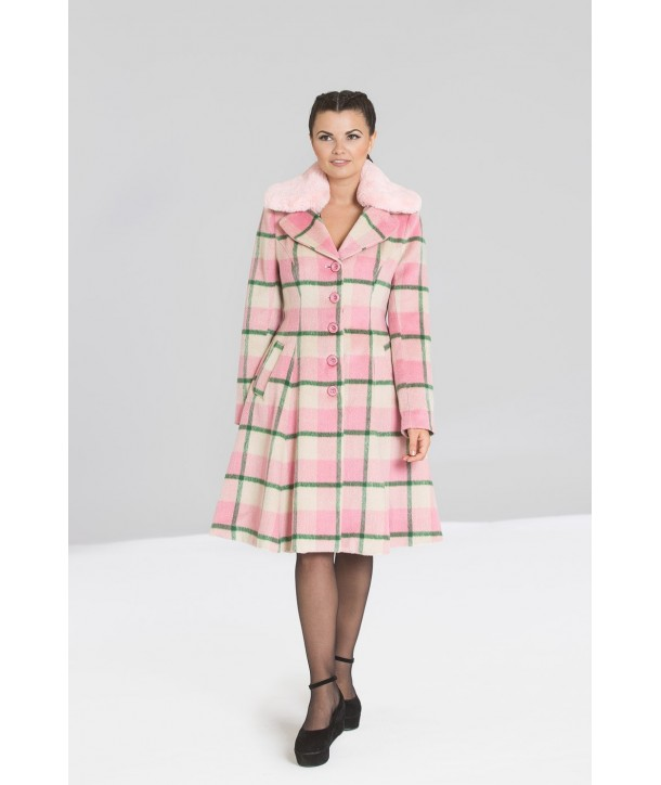 Manteau Hell Bunny Millicent Rose