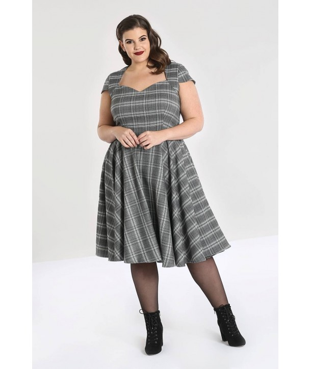 Robe Grande Taille Hell Bunny Frostine 50'S