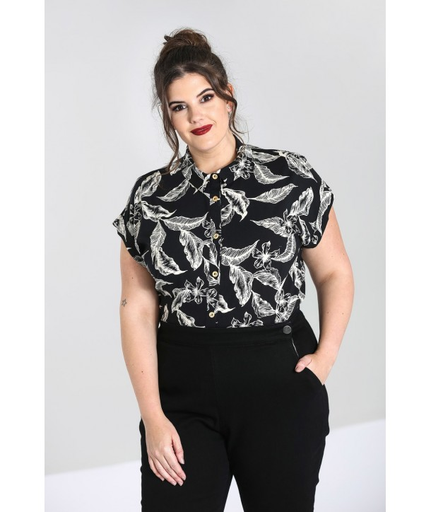 Top Grande Taille Hell Bunny Chiara