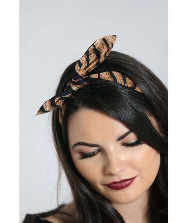 Bandeau cheveux Hell Bunny Tora