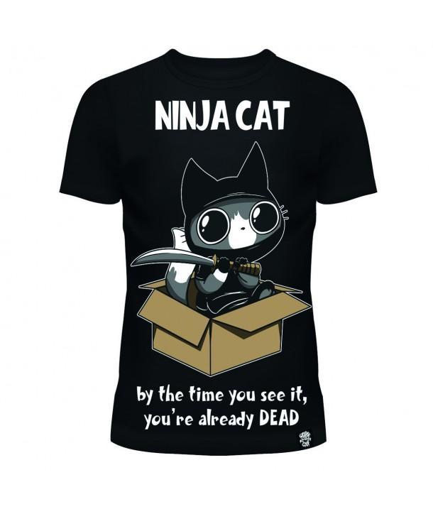 Tee Shirt Cupcake Cult Ninja Cat