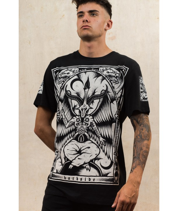 Tee Shirt Darkside Clothing Homme Baphomet