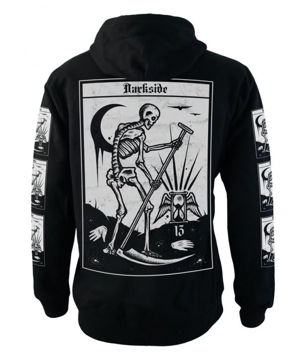 Sweat Shirt Veste Darkside Homme Death Tarot Card